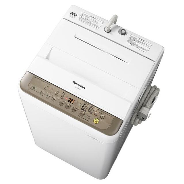 Panasonic パナソニック 全自動洗濯機 洗濯6kg NA-F60PB10-T ブラウン【即納・送料無料】