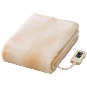 信頼の日本製。ちょっと大きめロングサイズ。温もりをお届けします。ふんわりしたあったか肌触りのマイヤー調。 【6枚セット】椙山紡織 電気敷き毛布 NA-08SL(BE) x 6個 ロングサイズ(180×85cm)【即納・送料無料】