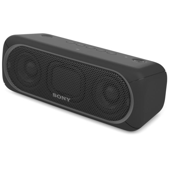 SONY ソニー Bluetooth対応 ワイヤレスポータブルスピーカー SRS-XB30-B ブラック 【即納・送料無料】