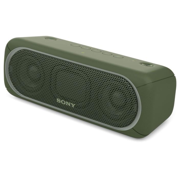 SONY ソニー Bluetooth対応 ワイヤレスポータブルスピーカー SRS-XB30-G グリーン【即納・送料無料】