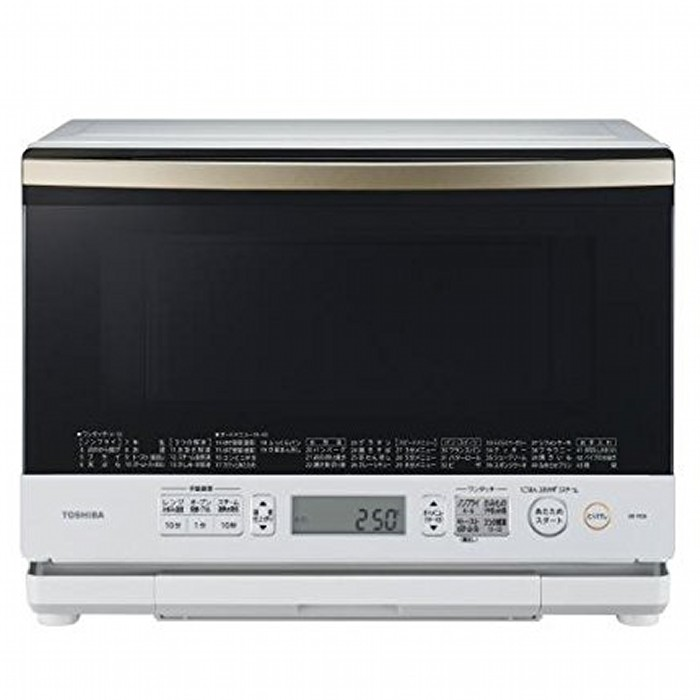 TOSHIBA Toshiba superheated steam oven 26 l stone kiln dome ER-MD8 (W) Grand white