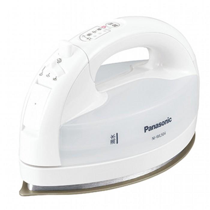 Panasonic パナソニック コードレススチームアイロン CaRuRu カルル NI-WL504-W ホワイト 【即納・送料無料】