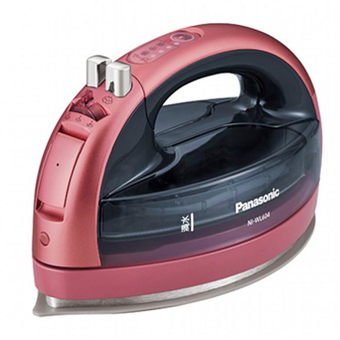 Panasonic パナソニック コードレススチームアイロン CaRuRu カルル NI-WL604-P ピンク 【即納・送料無料】