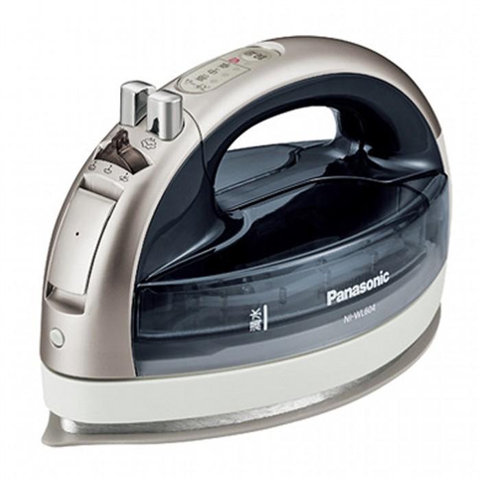 Panasonic パナソニック コードレススチームアイロン CaRuRu カルル NI-WL604-S シルバー 【即納・送料無料】