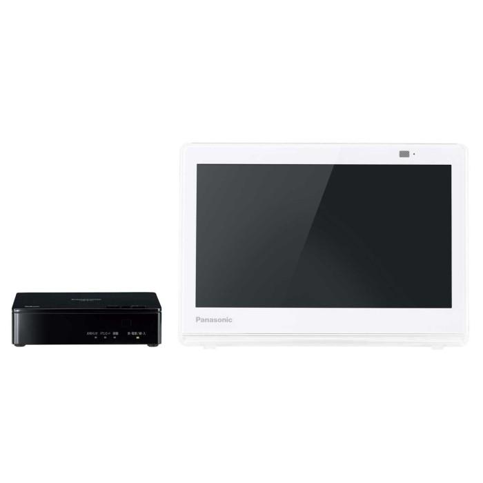 Panasonic パナソニック 10V型ポータブル液晶テレビ プライベート・ビエラ UN-10E7-W ホワイト 【即納・送料無料】