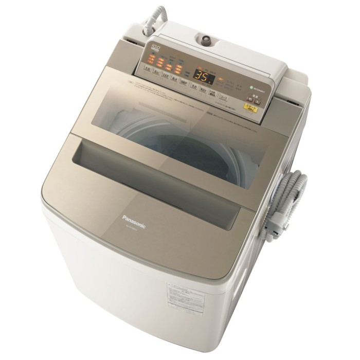 Panasonic パナソニック 全自動洗濯機 NA-FA100H5-T ブラウン 洗濯10kg 【即納・送料無料】