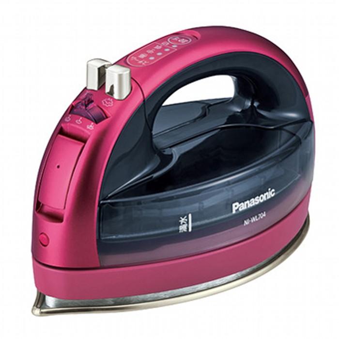 Panasonic パナソニック コードレススチームアイロン CaRuRu カルル NI-WL704-P ピンク【即納・送料無料】