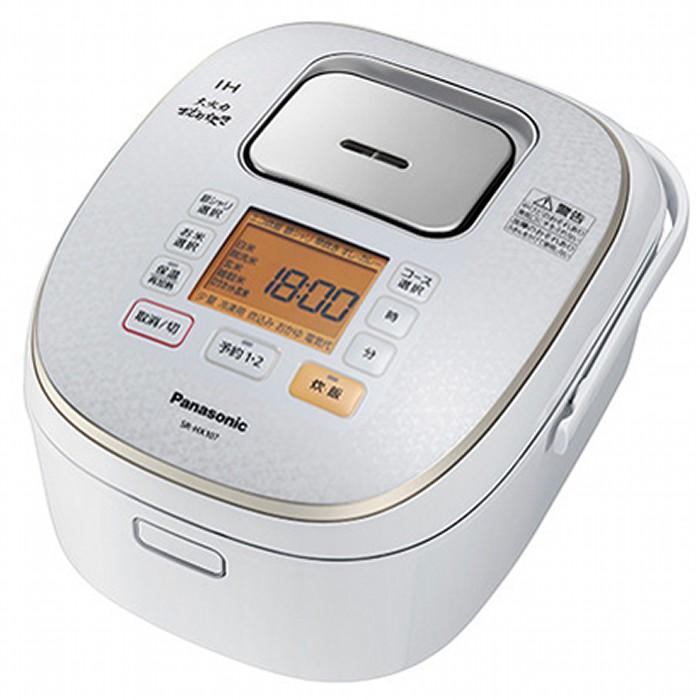 Panasonic IH炊飯器 1升炊き 大火力おどり炊き SR-HX187-W スノーホワイト パナソニック 【即納・送料無料】