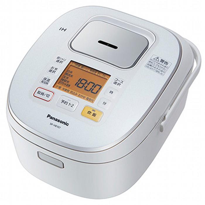 Panasonic IHジャー炊飯器 1升 SR-HB187-W ホワイト パナソニック 【即納・送料無料】