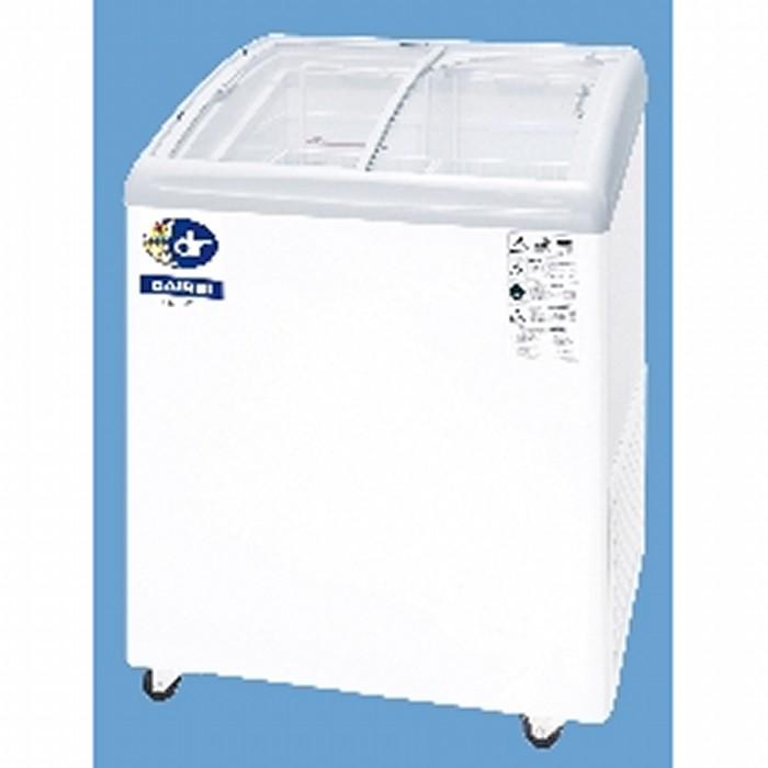 ダイレイ 無風冷凍ショーケース -25℃ 102L RIO-68SS【送料無料・代引き不可】