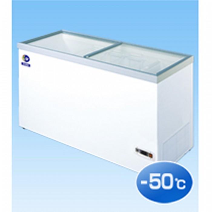 ダイレイ超低風冷凍冷凍ショーケース -50℃ 368L HFG-400D【送料無料・代引き不可】