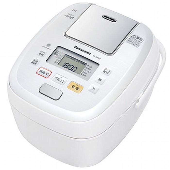 パナソニック 可変圧力IHジャー炊飯器 5.5合炊き SR-PB107-W ホワイト Panasonic 【即納・送料無料】