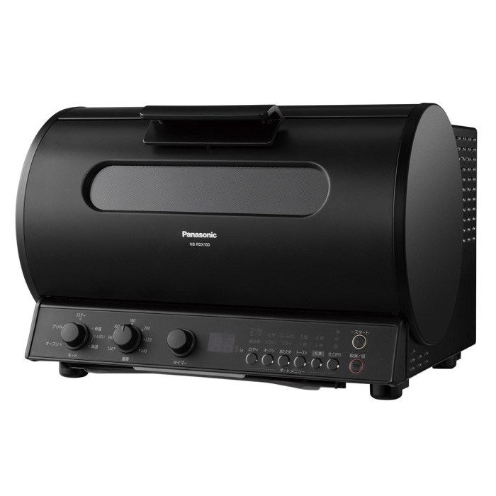 Panasonic ロティサリーグリル&スモーク NB-RDX100-K ブラック パナソニック 【即納・送料無料・代引き不可】