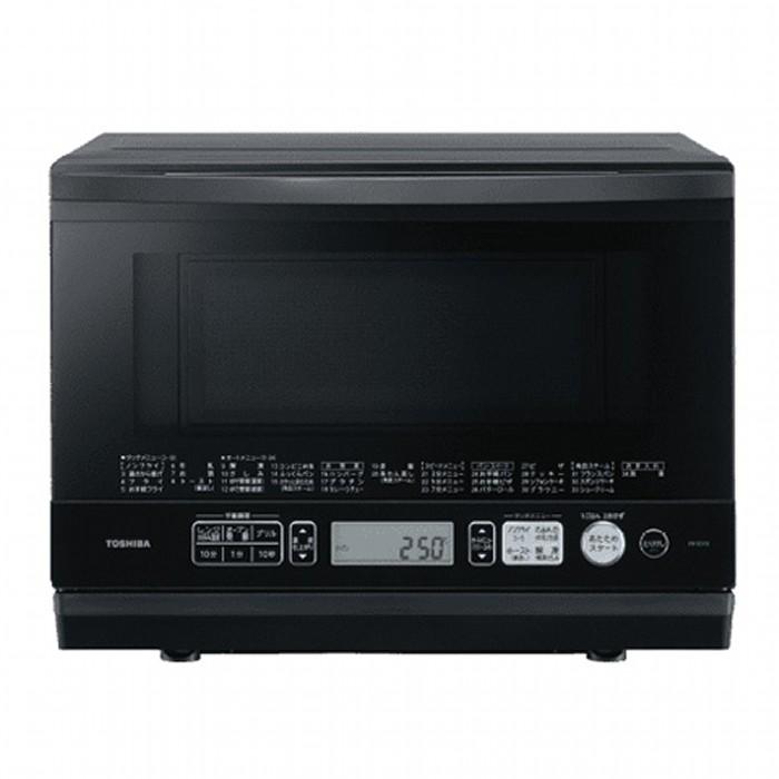 東芝 スチーム 角皿式オーブンレンジ 26L 石窯ドーム ER-SD70(K) ブラック TOSHIBA 【即納・送料無料~】