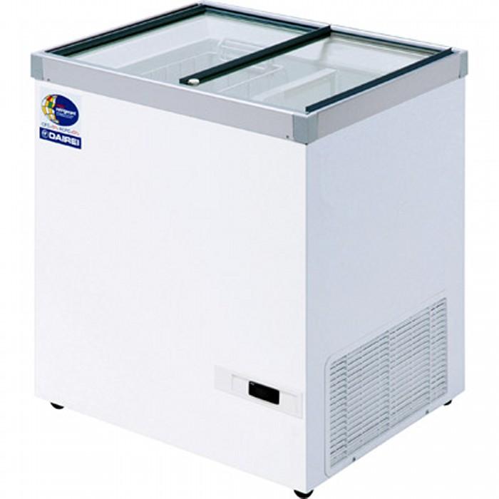 ダイレイ 超低風冷凍冷凍ショーケース -50℃ 133L HFG-140D【送料無料・代引き不可】