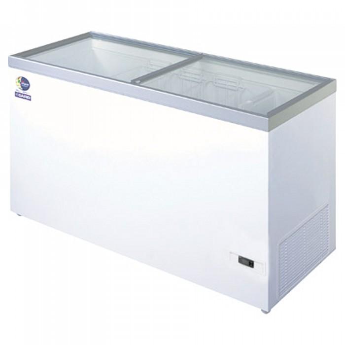 ダイレイ 超低風冷凍冷凍ショーケース -50℃ 368L HFG-400D【送料無料・代引き不可】