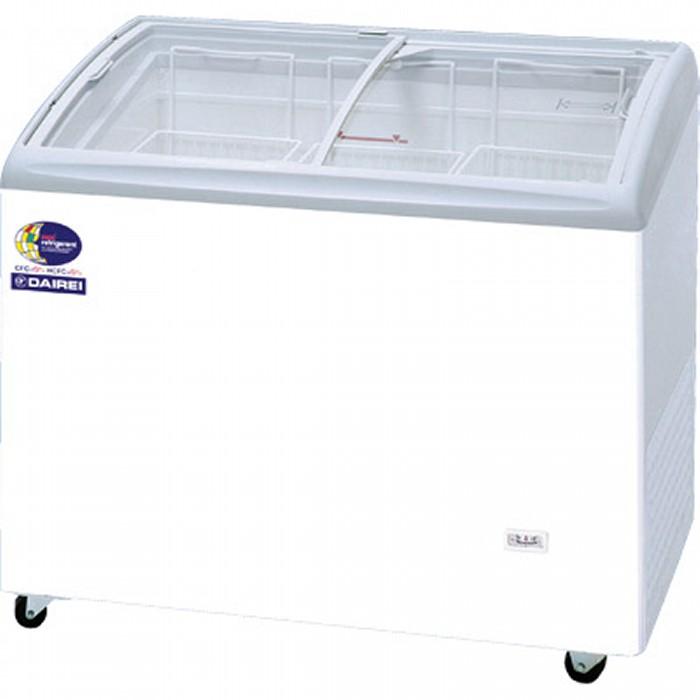 ダイレイ 無風冷凍ショーケース -25℃ 190L RIO-100SS【送料無料・代引き不可】