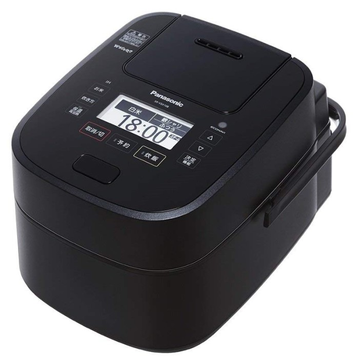 Panasonic パナソニック スチーム&可変圧力IHジャー炊飯器 1升 SR-VSX188-K ブラック 【即納・送料無料~】