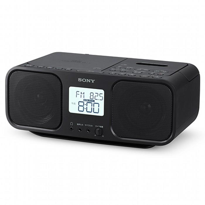 SONY CDラジオカセットレコーダー CDラジカセ CFD-S401(B) ブラック ソニー 【即納・送料無料~】