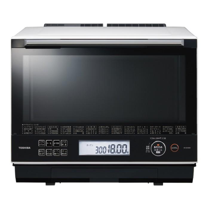 東芝 過熱水蒸気オーブンレンジ 30L 石窯ドーム ER-SD3000(W) グランホワイト TOSHIBA 【即納・送料無料】