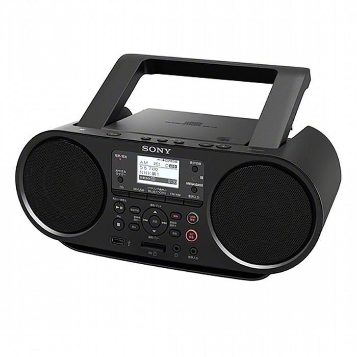 SONY Bluetooth対応CDラジオ ZS-RS81BT ソニー 【即納・送料無料】CDラジカセ