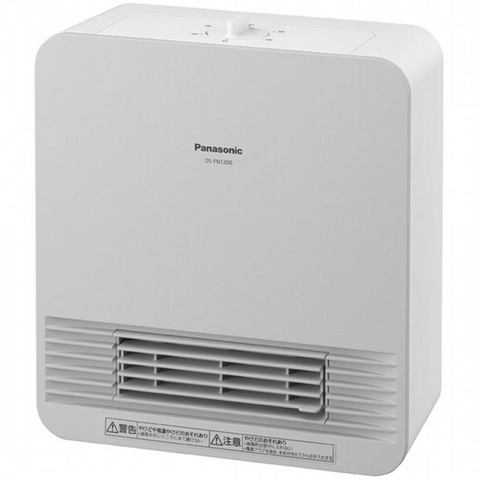 Panasonic セラミックファンヒーター DS-FN1200 風向可変ルーバー パナソニック【送料無料・即納】