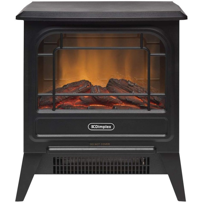 【安全・即暖】 Dimplex Optiflame Micro Stove MCS12J ブラック 電気暖炉 3~8畳用 ファンヒーター ディンプレックス オプティフレーム マイクロストーブ【送料無料~・即納】