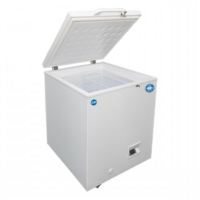 -60℃の超低温冷凍だから食材ロスを軽減し長期保存が可能です JCM 送料無料お手入れ要らず 正規取扱店 超低温冷凍ストッカー -60℃ 104L 冷凍庫 ジェーシーエム 代引き不可 送料無料 JCMCC-100