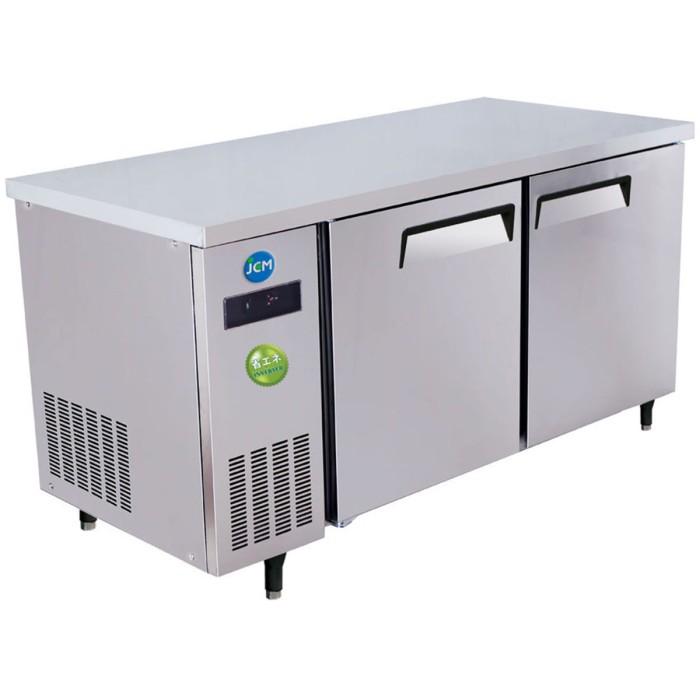JCM ヨコ型冷蔵庫 220L JCMR-1260T-I 薄型 -2℃~12℃ コールドテーブル (インバーター搭載)ジェーシーエム 【送料無料・代引き不可】