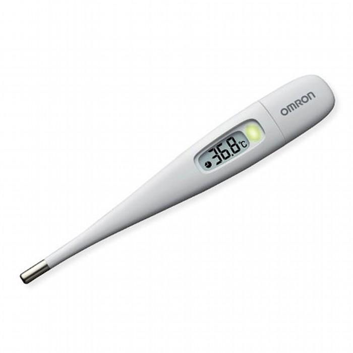 約15秒のスピード検温 新作 人気 大きな文字で 測定結果がみやすい オムロン 電子体温計 OMRON 2020 新作 即納 送料無料 けんおんくん MC-687