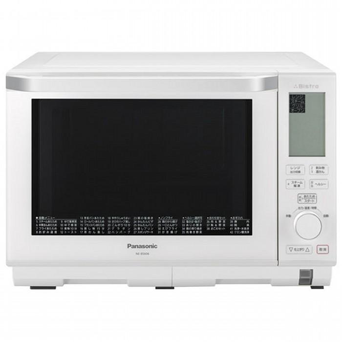 Panasonic スチームオーブンレンジ NE-BS606-W ホワイト 26L 3つ星ビストロ パナソニック 【即納・送料無料】