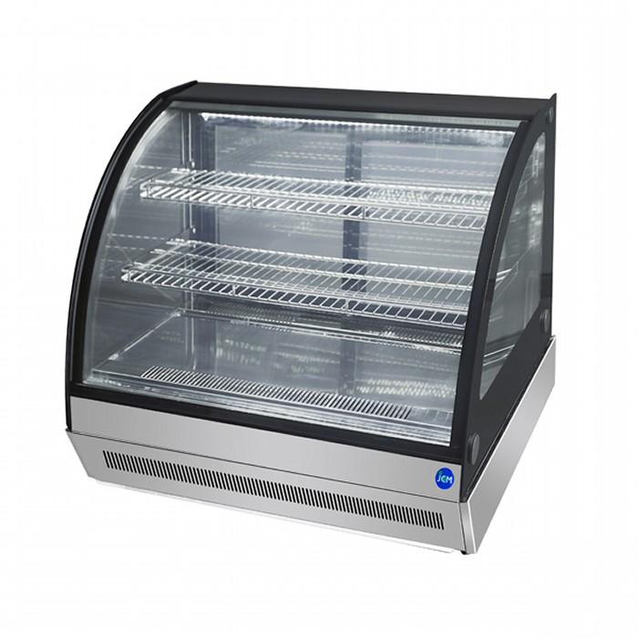 正面ガラス曇り除去機能付きだから商品がきれいに見える 毎日激安特売で 営業中です JCM 卓上型対面冷蔵ショーケース 2℃~8℃ ラウンド型 46L ジェーシーエム 代引き不可 JCMS-46T 冷蔵庫 買取 送料無料