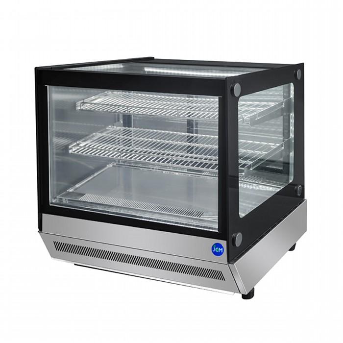 冷蔵庫 角型 53L JCM JCMS-53T 2℃~8℃ ジェーシーエム【送料無料・代引き不可】 卓上型対面冷蔵ショーケース