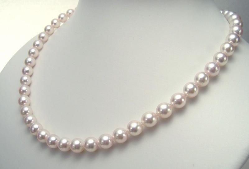 真珠ネックレス/7.0-7.5mm アコヤ真珠 パールネックレス