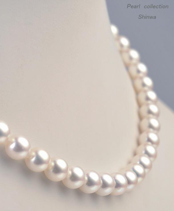 真珠ネックレス/7.5-8.0mm アコヤ真珠 パールネックレス