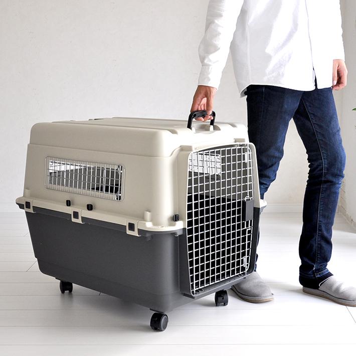 【全品ポイントアップ中】ペットキャリーバッグ DX80 中型犬 大型犬 横約56.5cm×高さ約58.5cm×奥行約80cm 送料無料 プチリュバン