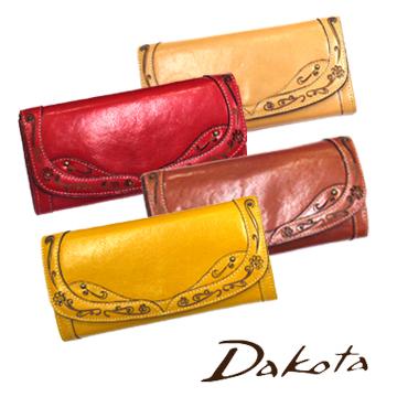 【送料無料】Dakota ダコタ デイジー 長財布