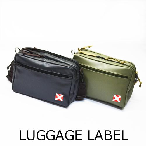 【送料無料】LUGGAGE LABEL/LINERラゲッジレーベル/ライナーショルダーバッグM