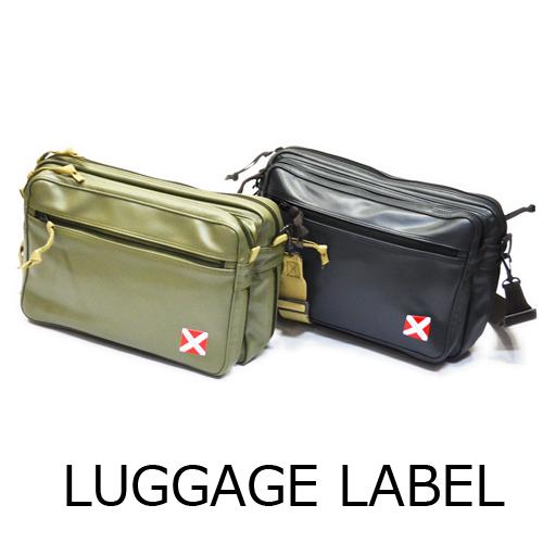 【送料無料】LUGGAGE LABEL/LINERラゲッジレーベル/ライナーショルダーバッグ L