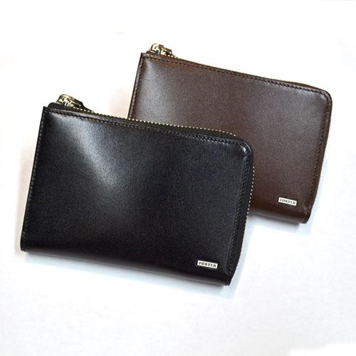 PORTER/SHEEN ポーター/シーン L字ファスナー二つ折り財布