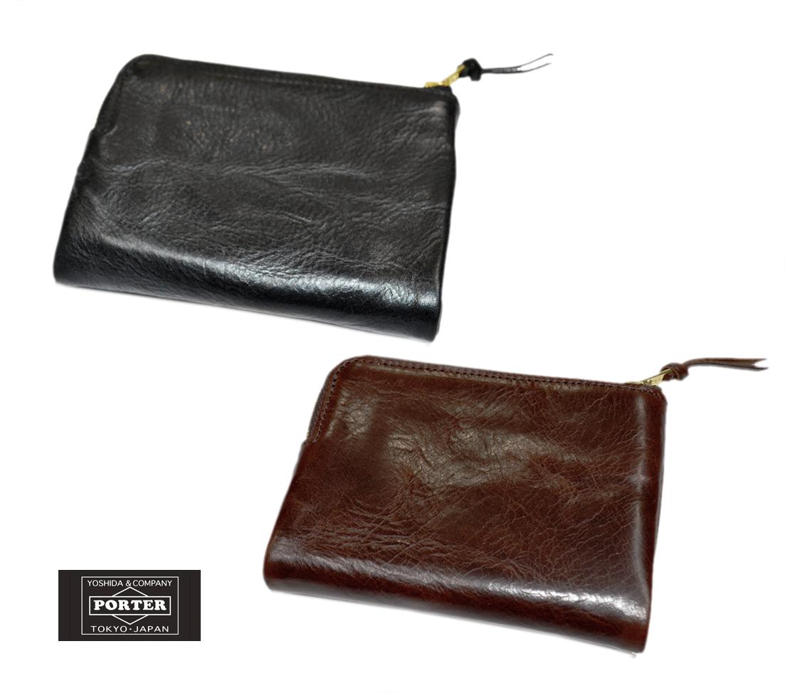 【送料無料】PORTER/ポーター SOAK/ソーク 二つ折り財布