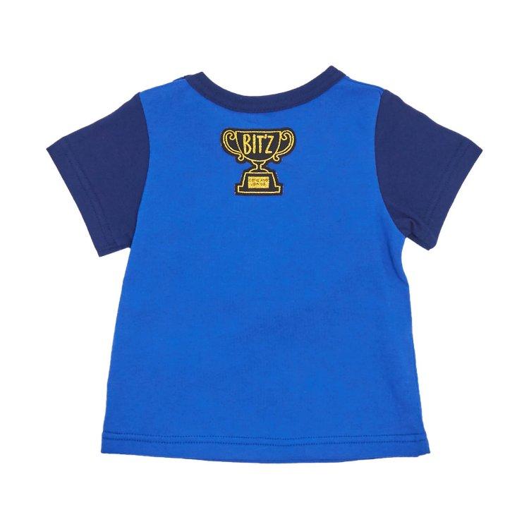 【メール便送料無料】 【男の子】 【セール40%OFF】 bitz 【b207049】 ライオンギミックTシャツ (ビッツ) 【80-120】