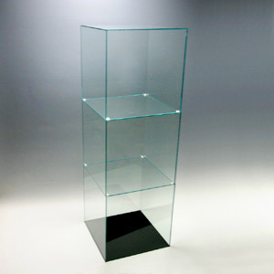 見事な創造力 アクリル3段ケースB/5面体/ガラスエッジ/幅30cm/奥行30cm/高さ91.2cm, ラーメンもりしげ:371ad336 --- mokodusi.xyz