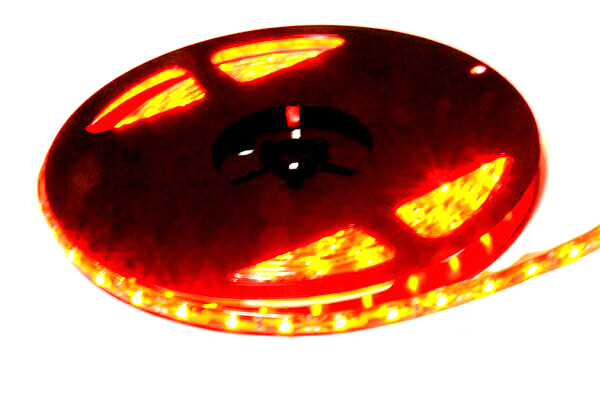 防水テープLED/レッド red 赤/ 5m/300連/3528SMD仕様/DC12V/最新超高照度SMDチップ採用で最高の輝き!カット可能で様々な用途に使用可能!新品 tape led strip led 300連 300発 300LED 車用 バイク用 カー用品 外装 カスタム ドレスアップ イルミネーション