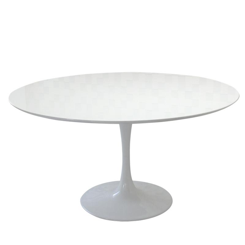 チューリップテーブル 天板137cm/ホワイト white/エーロ・サーリネン作/新品 tuliptable Eero Saarinen ちゅーりっぷテーブル パーソナルテーブル サイドテーブル ダイニングテーブル デザイナーズ リプロダクト TABLE