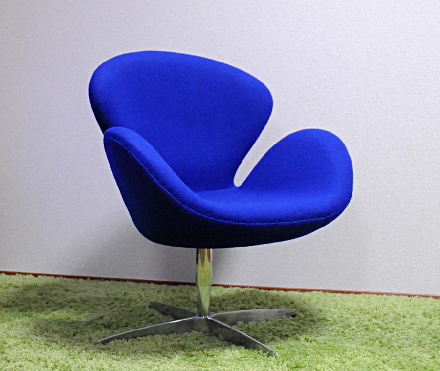 有名 名作 傑作 designers 人気の定番 家具 スワンチェア ファブリック仕様 贈答 色ブルー アルネヤコブセンによるデザイン リプロダクト いす 椅子 イス デザイナーズ家具 パーソナルチェア カウンターチェア ジェネリック