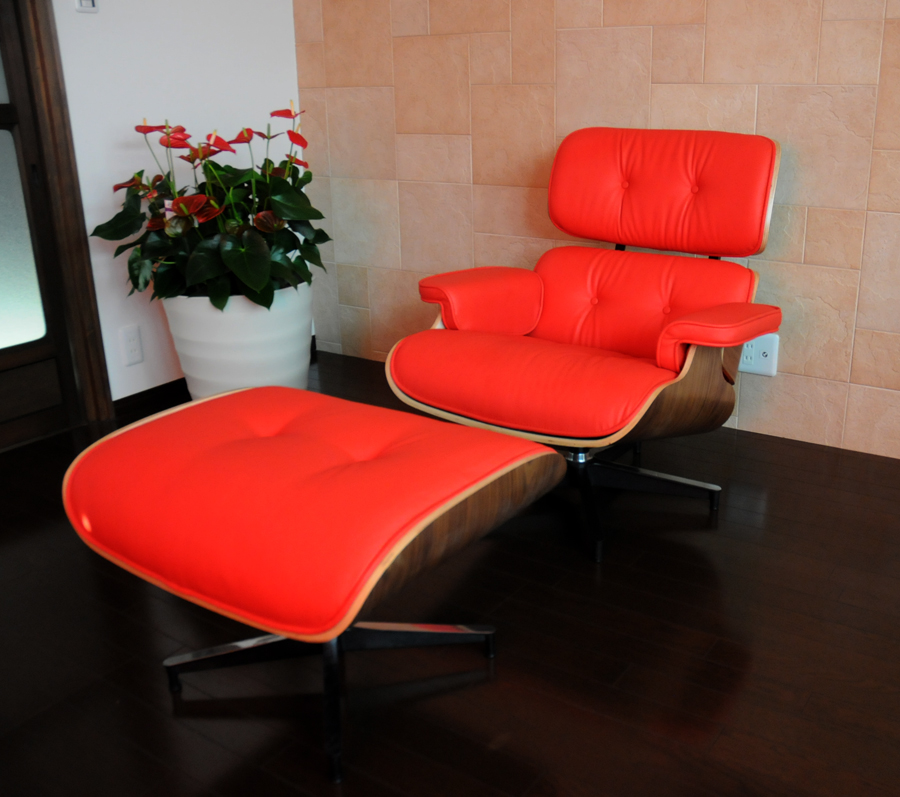 Eames Lounge Chair And Ottoman Set □ Soft PU Leather Spec Sit Sitting  Comfort Is Best /eames Lounge Chair Mid Century Charles Ray Personal Chair  Solo Seat ...