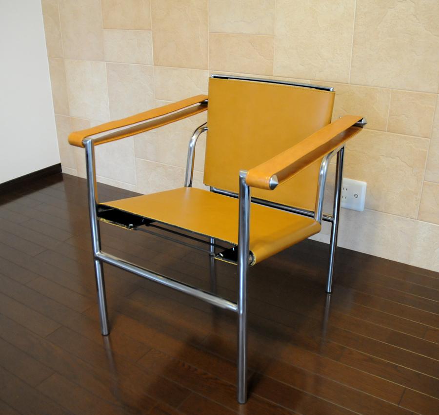 早割クーポン! ル・コルビジェ Le LC1 タン(tan) スリングチェア タン(tan) 最高級レザー仕様 新品 Le Corbusier Sling Sling Chair 椅子 パーソナルチェア 一人用 1人用 ダイニングチェアカウンターチェア, キョウタナベシ:dc5d4ccb --- canoncity.azurewebsites.net
