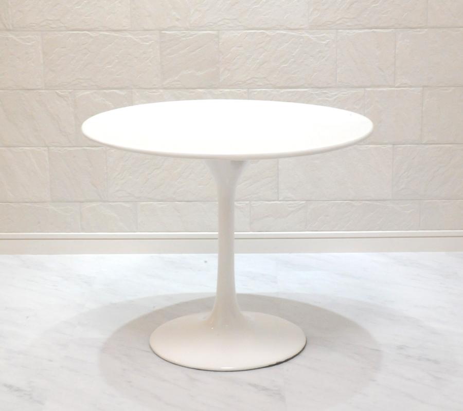 チューリップテーブル 直径60cm/ホワイト white/エーロ・サーリネン作/新品 tuliptable Eero Saarinen ちゅーりっぷテーブル パーソナルテーブル サイドテーブル ダイニングテーブル デザイナーズ リプロダクト TABLE 白 送料込み