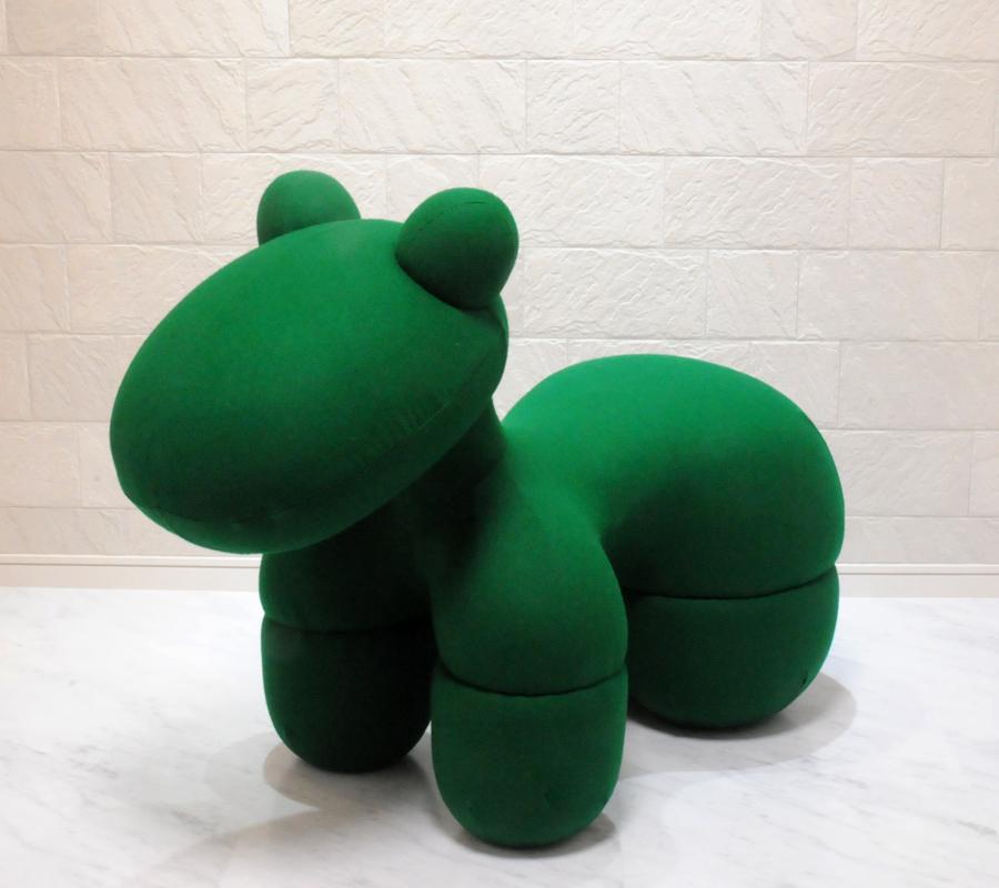 ポニーチェア/エーロ・アールニオ デザイン/グリーン green/新品 pony chair  Eero Aarnio デザイナーズ家具 椅子 いす イス 子供用 大人用 キッズチェア パーソナルチェア ソファ 一人用 ぽにーちぇあ